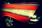 Auction Photo Prints - Chevy Bel Air Print by Susanne Van Hulst