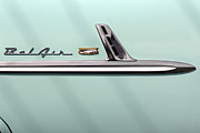 Door Digital Art - Chevy Belair Trim - 4 Door by Mike McGlothlen