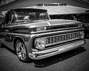 Classic Truck Photos - Chevy Chrome by Perry Webster