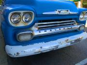 Truck Digital Art Originals - Chevy Grill by Michael Thomas