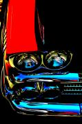Headlight Digital Art - Chevy by Gwyn Newcombe