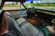 Alabama Posters - Chevy Interior Poster by Michael Thomas