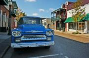 Fairhope Prints - Chevy on Dauphin Print by Michael Thomas
