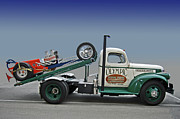 Photomanipulation Photo Prints - Chevy Ramp Truck Print by Bill Dutting