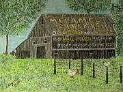 Kathy Marrs Chandler Art - Chew Mail Pouch Barn by Kathy Marrs Chandler