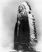 1878 Photos - CHEYENNE NATIVE AMERICAN, c. 1878 by Granger
