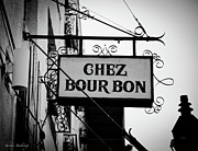 Chez Prints - Chez Bourbon  Print by Shelly Stallings