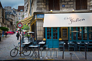 City Streets Prints - Chez Julien Print by Inge Johnsson