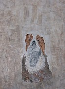 Dogs Reliefs Originals - Chiari Dog by Roy Penny