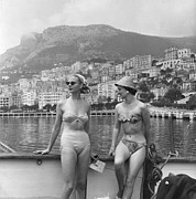 Mid Summer Prints - Chic Bikini Print by Bert Hardy
