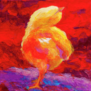 Chick Painting Posters - Chic Flic V Poster by Marion Rose