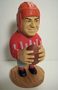 Football Sculptures - Chic Harley by John Hoesman