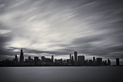 Sky Line Framed Prints - Chicago Framed Print by Adam Romanowicz
