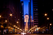 Chicago Board Of Trade Prints - Chicago Board of Trade Print by Archana Doddi