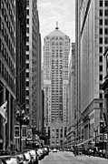 Urban Scene Art - Chicago Board of Trade by Christine Till
