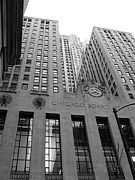 Chicago Board Of Trade Prints - Chicago Board of Trade Print by David Bearden