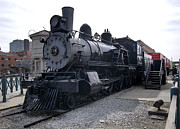Chicago Photography Originals - Chicago Burlington Quincy Steam Locomotive 710 by Paul Cannon