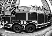 Chicago Artist Prints - Chicago FD Print by John Rizzuto