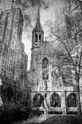 Film Photography Prints - Chicago Fire Print by Sonja Quintero