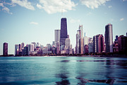Instagram Posters - Chicago Instagram High Resolution Picture Poster by Paul Velgos