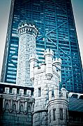 Castle Mixed Media Originals - Chicago by Monica Lopez
