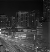 Monotone Originals - Chicago Night by Arni Katz