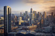 Chicago Photography Posters - Chicago Poster by Photography by Aurimas Adomavicius