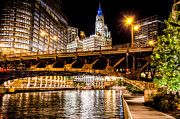 Riverwalk Photos - Chicago Riverwalk by Raf Winterpacht