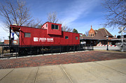 Chicago Photography Originals - Chicago Rock Island Caboose by Paul Cannon