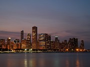 Dan Susek - Chicago skyline at dusk 