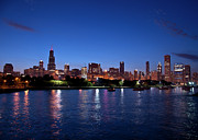 Maria Aiello - Chicago Skyline at Dusk