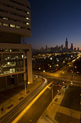 Chicago Prints - Chicago skyline view Print by Sven Brogren