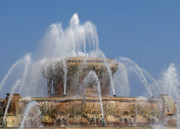 Chicago Fountain Prints - Chicago Splash Print by Ann Horn