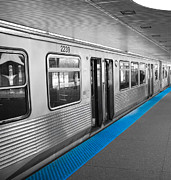 Metro Metal Prints - Chicago Subway Metal Print by Marius Sipa