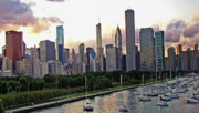 TONY GRIDER - CHICAGO SUNSET