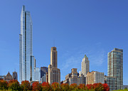 Skylines Art - Chicago The Beautiful by Christine Till
