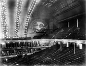1880s Prints - Chicago. The Chicago Auditorium Print by Everett