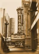 Ely Prints - Chicago Theater - 3 Print by Ely Arsha