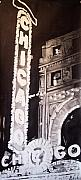 Photorealistic Painting Posters - Chicago Theater Poster by Scott Robinson