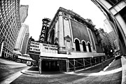 Unique View Prints - Chicago Theater View Print by John Rizzuto