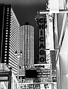 Chicago Theatre Print by Ely Arsha