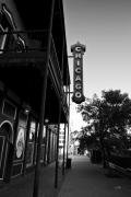 North Louisiana Framed Prints - Chicago Theatre Shreveport Framed Print by Scott Pellegrin