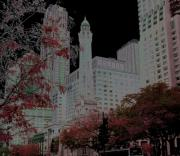 Watertower Prints - Chicago Water Tower Print by Rosemary Babikan