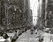 Confetti Prints - Chicago Welcomes Apollo 11 Astronauts Print by Nasa