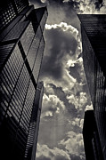 Dramatic Light Framed Prints - Chicago Willis Tower Framed Print by Philip Sweeck