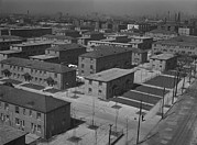 Works Progress Administration Art - Chicagos Ida B. Wells Housing Project by Everett