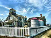 Rescue Station Framed Prints - Chicamacomico Lifesaving Station I Framed Print by Steven Ainsworth