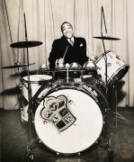 Cymbal Framed Prints - Chick Webb (1909-1939) Framed Print by Granger