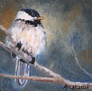 Debra Mickelson - Chickadee Fledgling