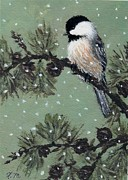 Kathleen McDermott - Chickadee Set 16 Bird 2...